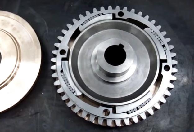Otto-Langen repro overrunning clutch