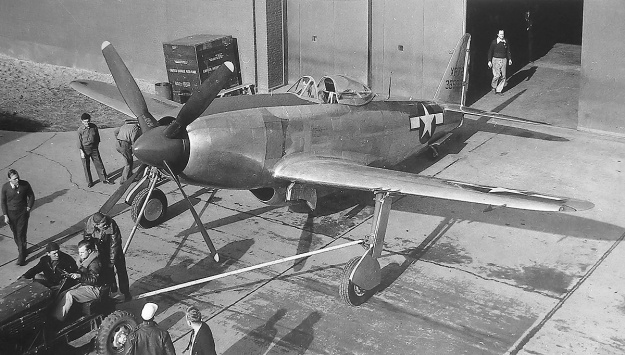 Republic XP-72 No 1 roll out