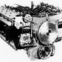 SGP Sla 16 (Porsche Type 203) X-16 Tank Engine