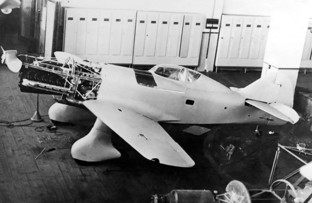 VEF I-16 construction