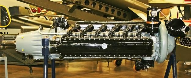 Lycoming O-1230 display