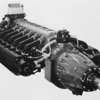 Lycoming O-1230 Flat-12 Aircraft Engine