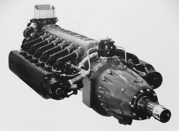 Lycoming O-1230 front