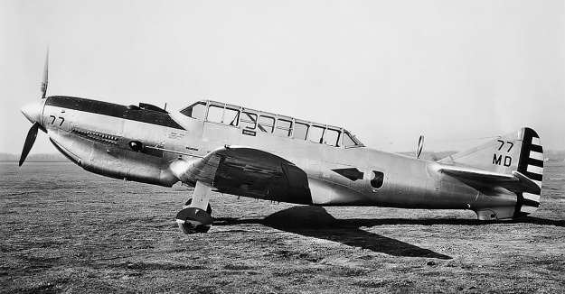 Lycoming O-1230 Vultee XA-19A side