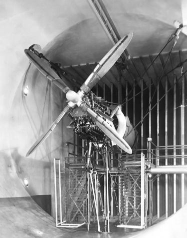 Lycoming XH-2470 test stand