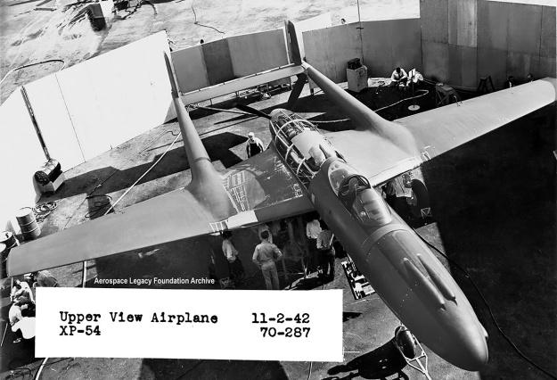 Lycoming XH-2470 Vultee XP-54 top