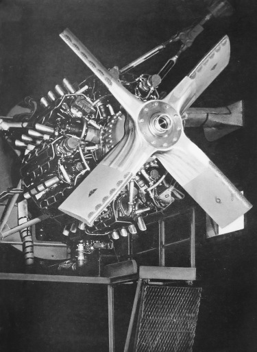 Lycoming XR-7755-1 test stand