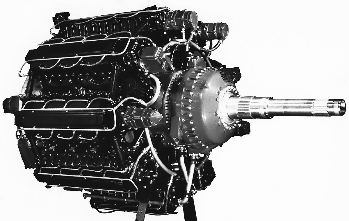 Lycoming XR-7755 36-Cylinder Aircraft Engine | Old Machine Press