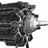 Lycoming XR-7755 36-Cylinder Aircraft Engine