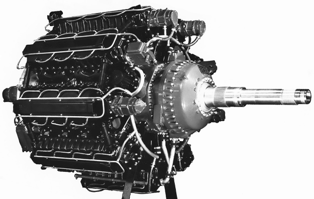Lycoming XR-7755-3 side