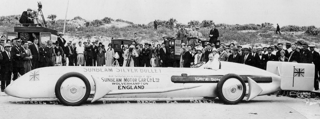 Sunbeam Silver Bullet Daytona 14-03-1930