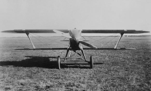 Kirkham-Williams Racer landplane front