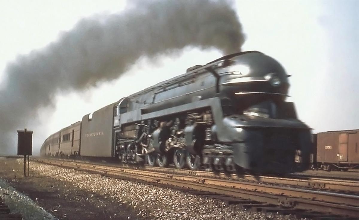 Pennsylvania Railroad 6-4-4-6 S1 Locomotive | Old Machine Press