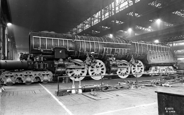 PRR S1 6100 construction