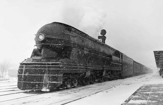 PRR S1 6100 Englewood snow