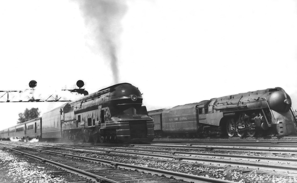 Pennsylvania Railroad 6-4-4-6 S1 Locomotive   Old Machine Press