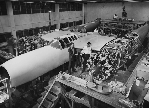 Hughes D-2 construction a