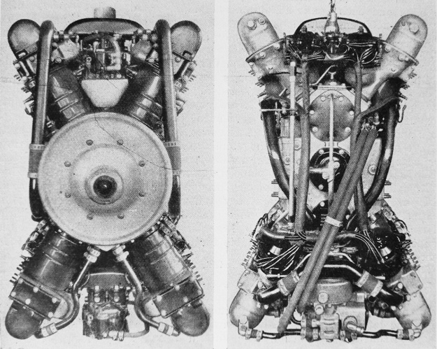 Packard X-2775 front and back