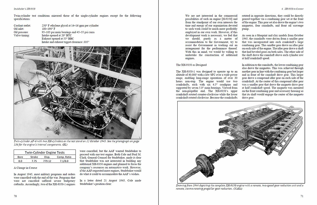 Studebakers Xh 9350 And Their Involvement With Other Aircraft Studebaker Engine Diagrams Sample Pages