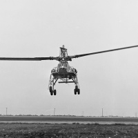 Hughes (Kellett) XH-17 Heavy-Lift Helicopter