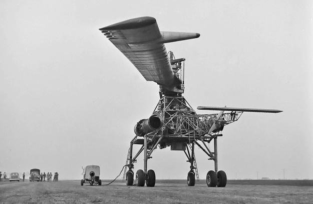 Hughes XH-17 rear