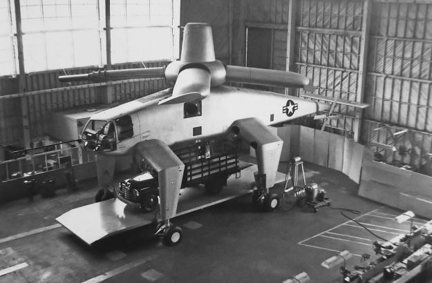 Hughes XH-28 mockup