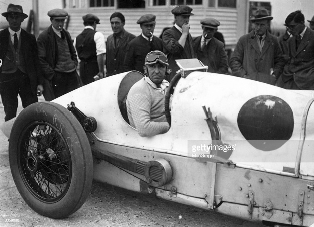 Parry Thomas at Brooklands Getty