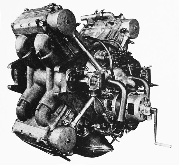 Thomas X-8 engine