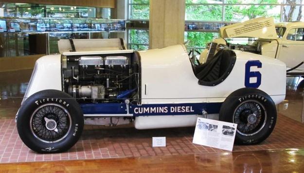 cummins 1934 6 display