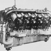 Daimler-Mercedes D VI W-18 Aircraft Engine