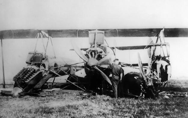 LWF H Owl crash 1920