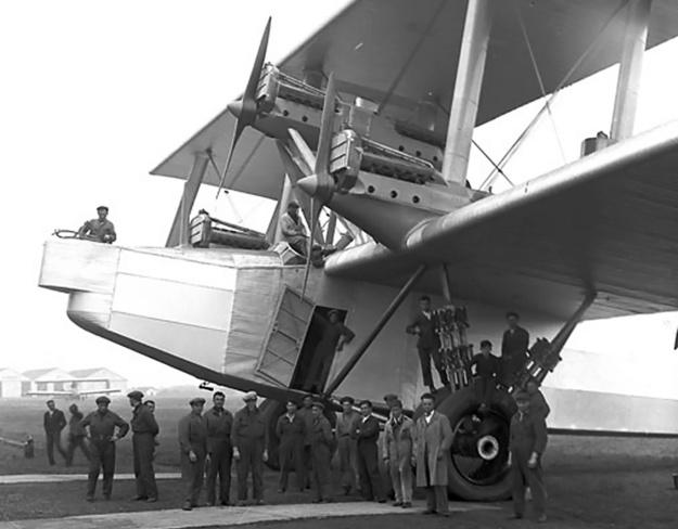 Caproni Ca90 close