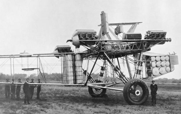 Caproni Ca90 frame