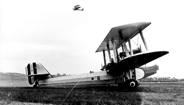 Caproni Ca90 side paint