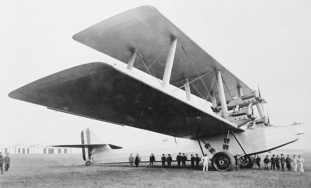 Caproni Ca90 side
