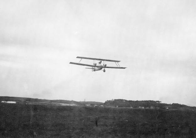 Caproni Ca90 takeoff