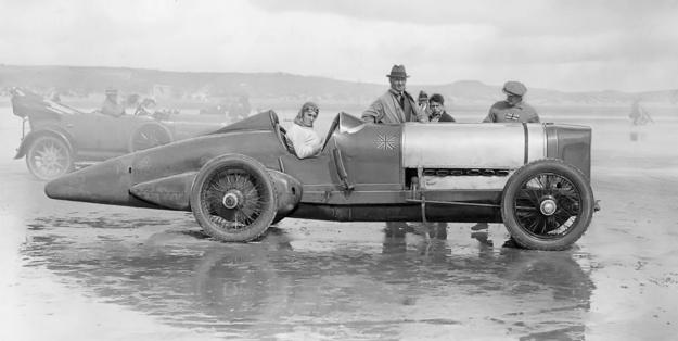 Sunbeam 350HP Blue Bird Pendine 1924