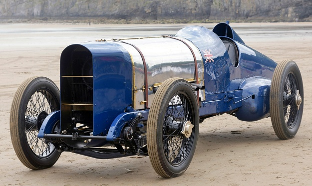 Sunbeam 350HP Blue Bird Pendine 2015