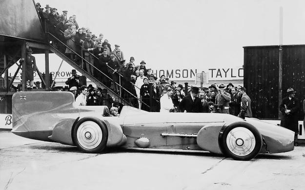 Campbell-Napier-Railton Blue Bird Brooklands side 1932