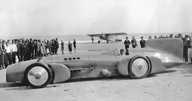 Campbell-Napier-Railton Blue Bird Daytona Beach 1931