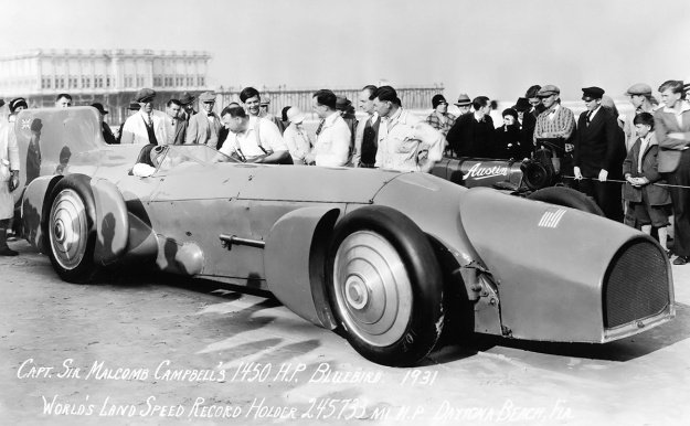 Campbell-Napier-Railton Blue Bird Daytona Pier 1931