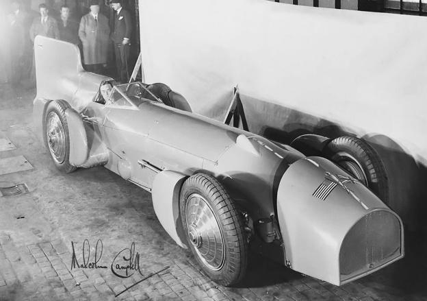 Campbell-Napier-Railton Blue Bird Malcolm 1931