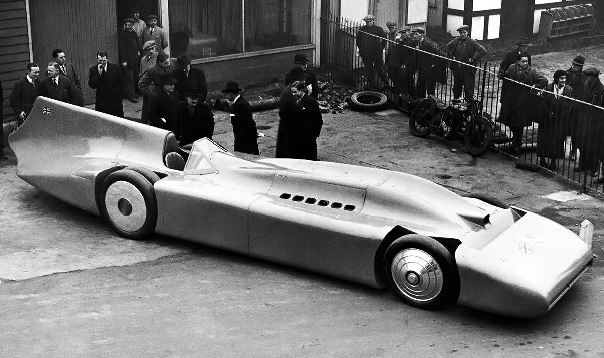 Campbell-Railton-R-R 1935 debut