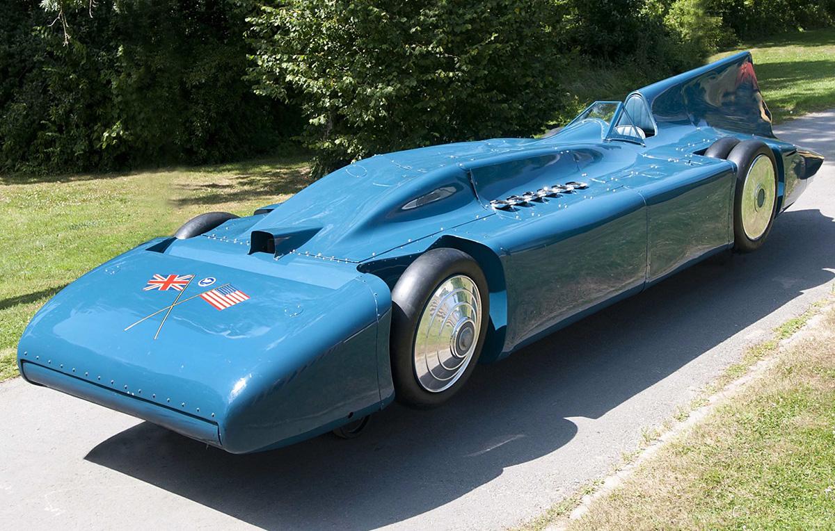 Campbells Used Cars >> Blue Bird Lsr Car Part 4 Campbell Railton Rolls Royce 1933