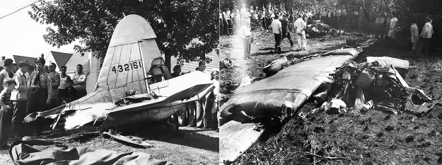 Fisher XP-75A 44-32161 crash