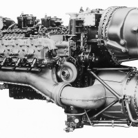 Napier Nomad Compound Aircraft Engine