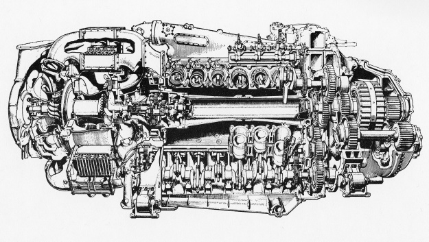 Napier-Deltic-CT18-Charge-Cooled-cutaway