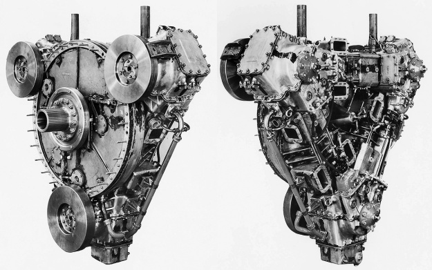 Napier-Deltic-E130-Three-cylinder-test-engine