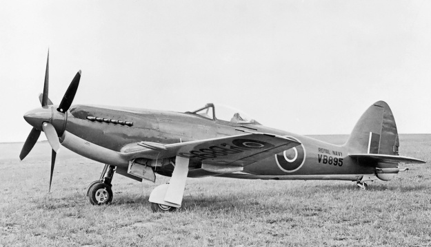 Supermarine Seafang VB895