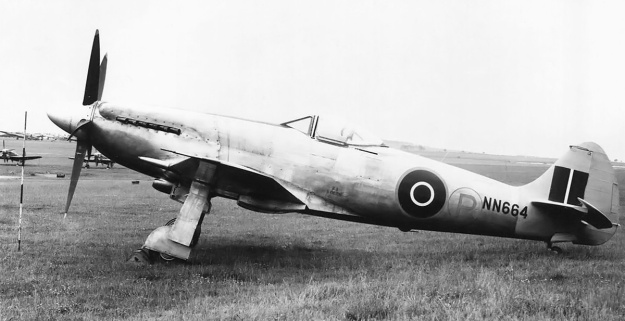 Supermarine Spiteful NN664 2nd prototype